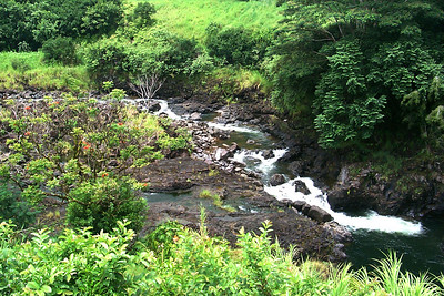 River Flowing into Hilo