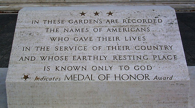 Medal of Honor Stone