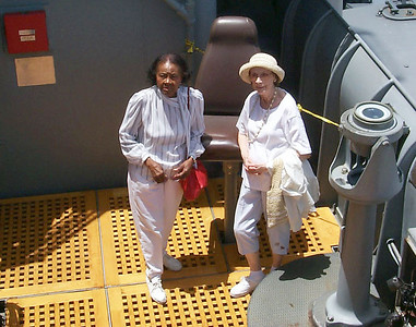 Myrtle and Mom on Upper Deck
