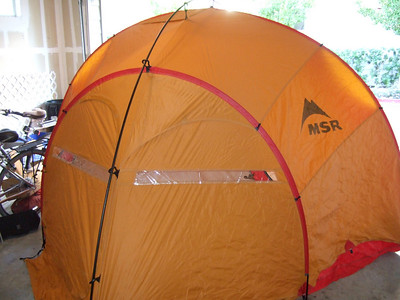 MSR Wind 4 Expedition Tent