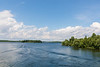 View from bridge on Long Sault Parkway