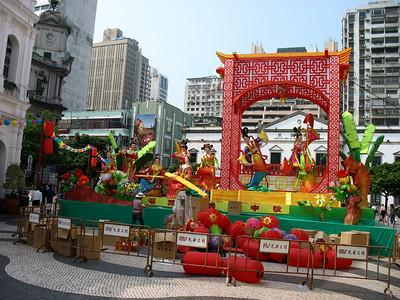 Macau -- Street scenes