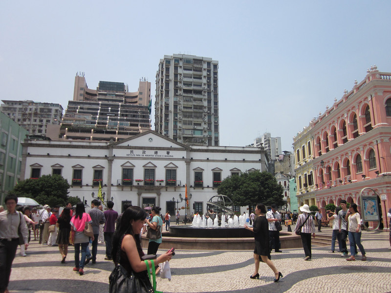 Senado Square, dubbed by Unesco as a World Heritage site.