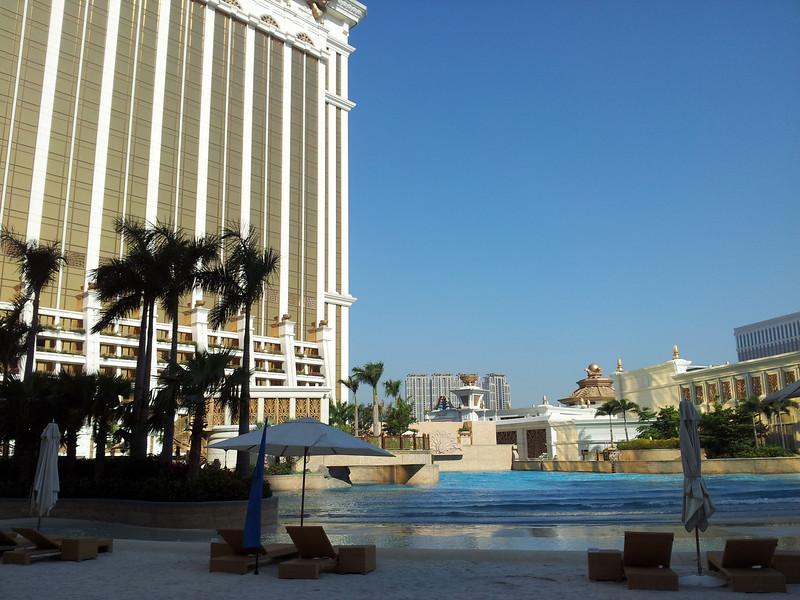 酒店個人工沙灘