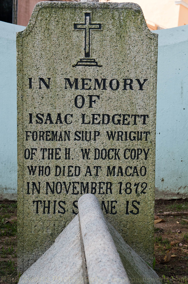In memory of Isaac Ledgett ...