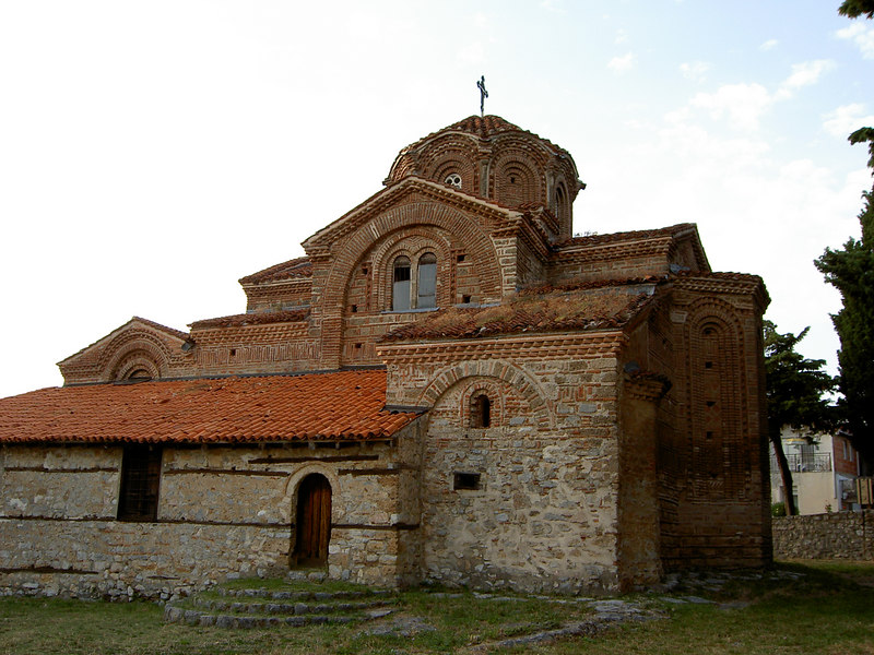 Orthodox church in Ohrid