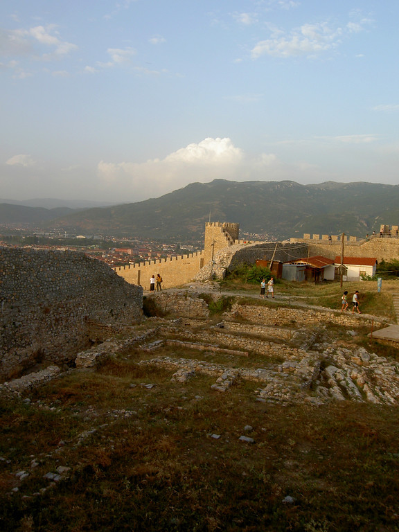Fortress in Ohrid