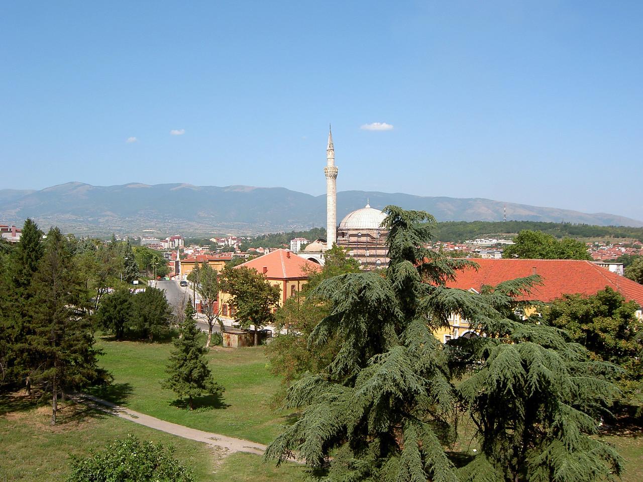 Skopje skyline