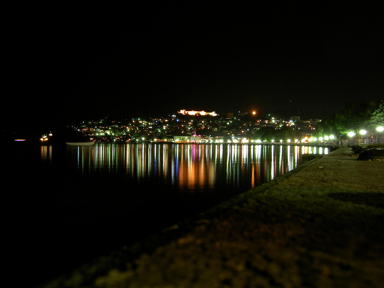 Ohrid by night