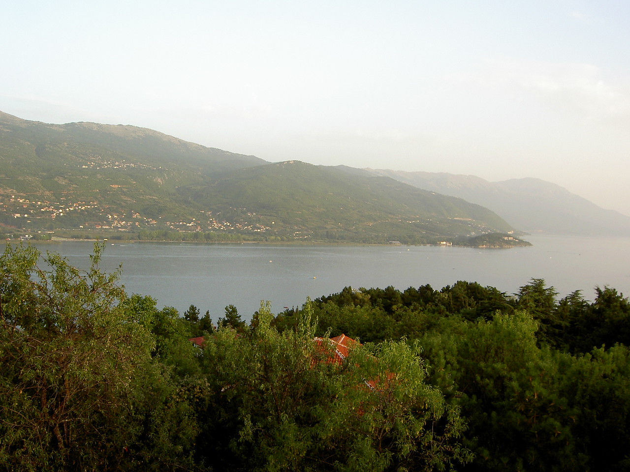 View from the fortress in Ohrid