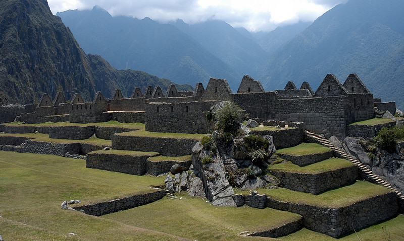 Machu Picchu External Sections of Buildings7