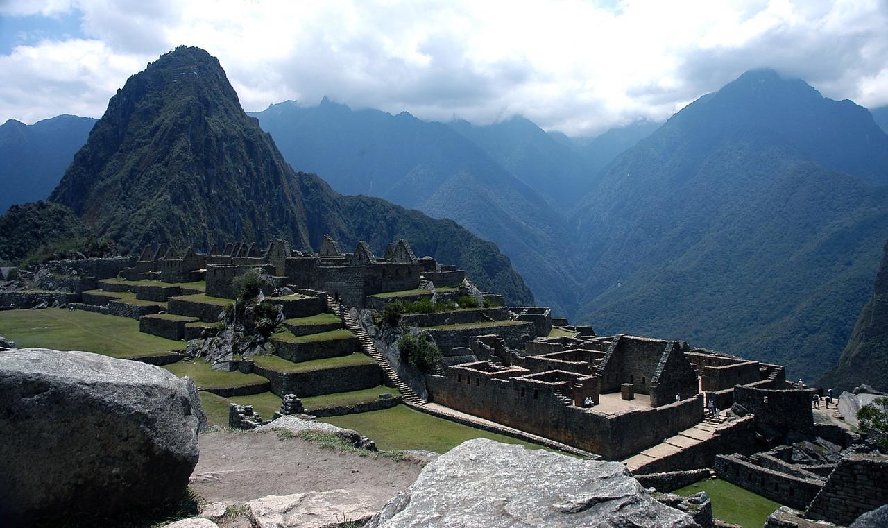 Machu Picchu Quarry View