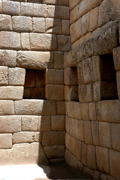 Trapezoidal Inca Niches