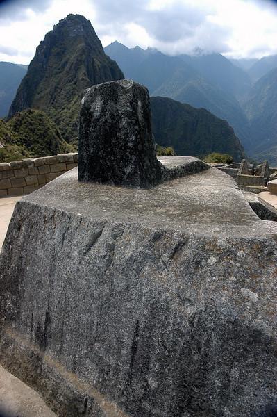 Machu Picchu The Sun Dial_Intihuatana