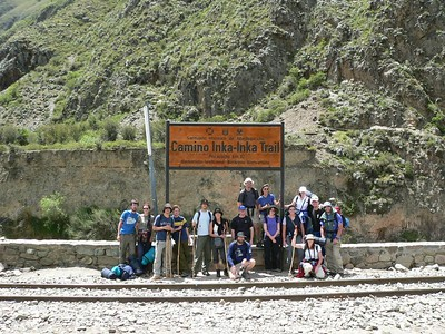 Inca Trail day 1