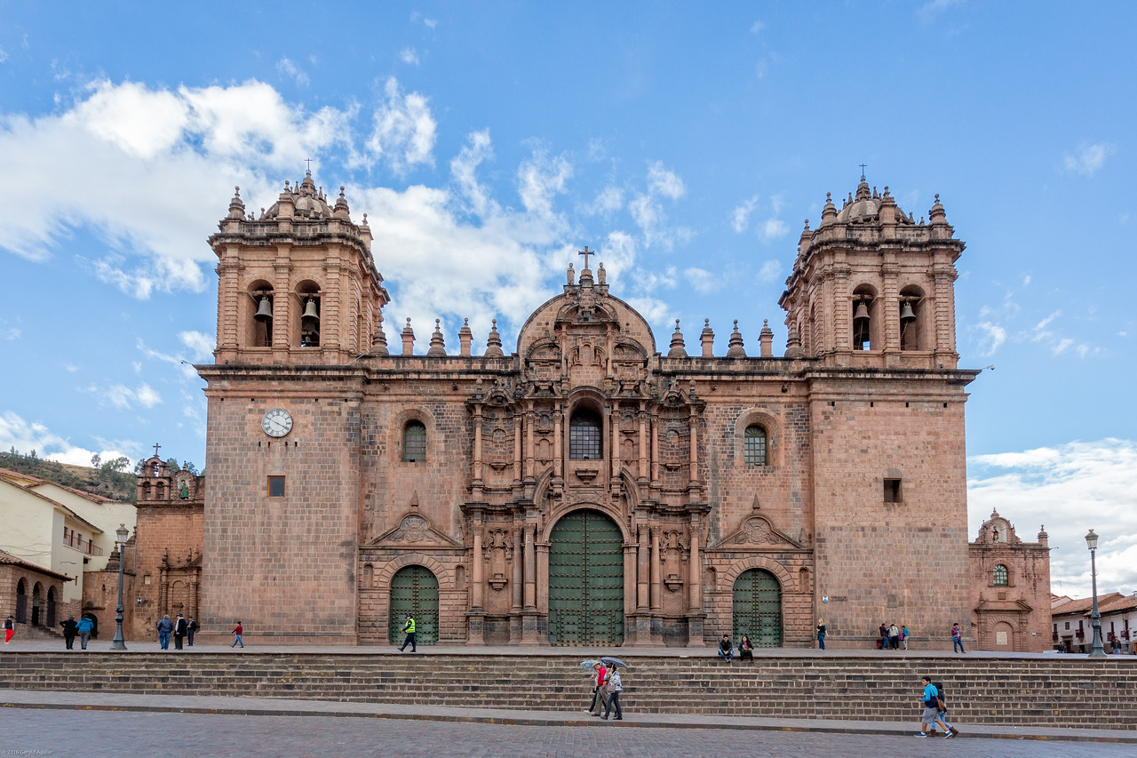 Cathedral in Downtown Cusco