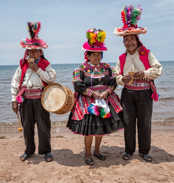 Island Beach Performers of Taquile