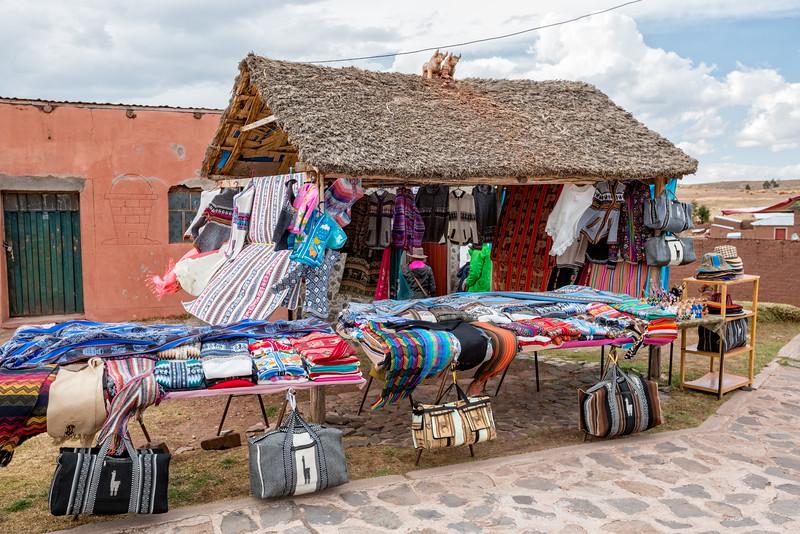 Sillustani Market Place