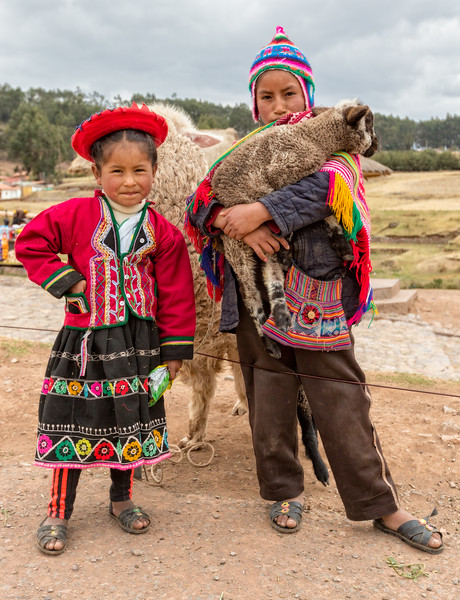 Traditional Dress - Peruvian Children