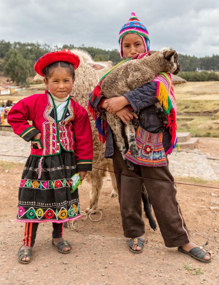 Traditional Dress - Peruvian Children