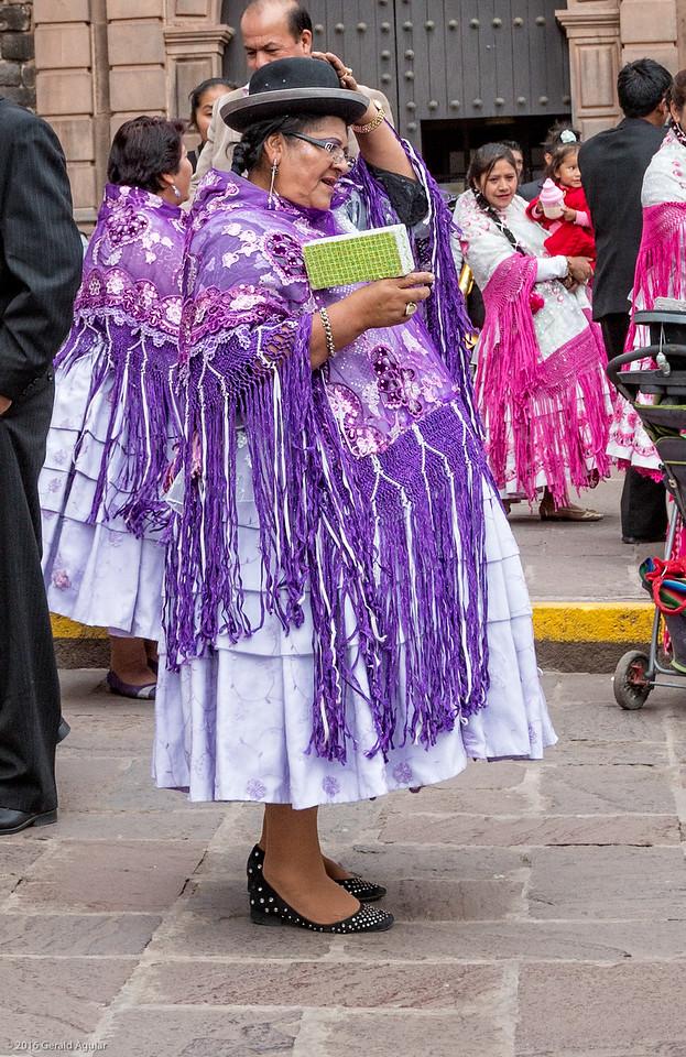 Traditional Peruvian Performer
