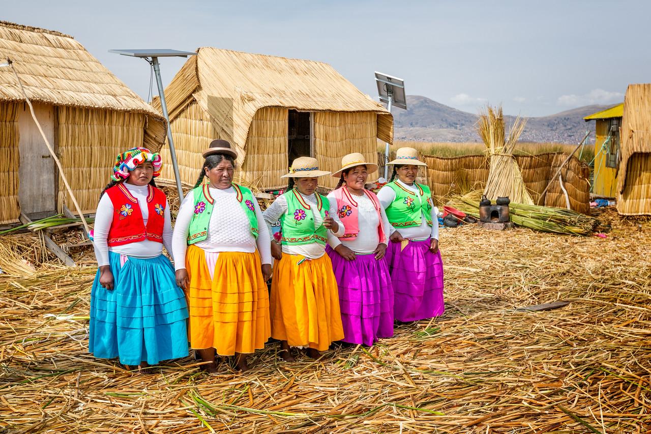 President Juana and Her Girls