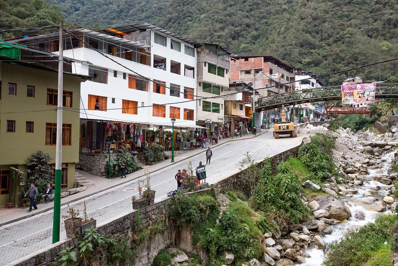 Machu Picchu Village Mainstreet