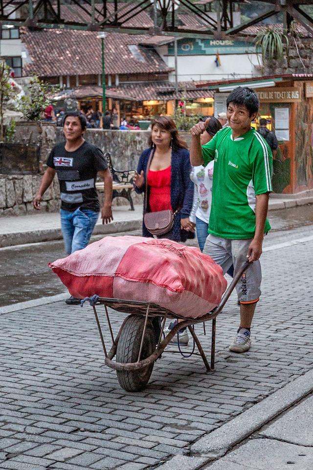 Transporting Potatoes