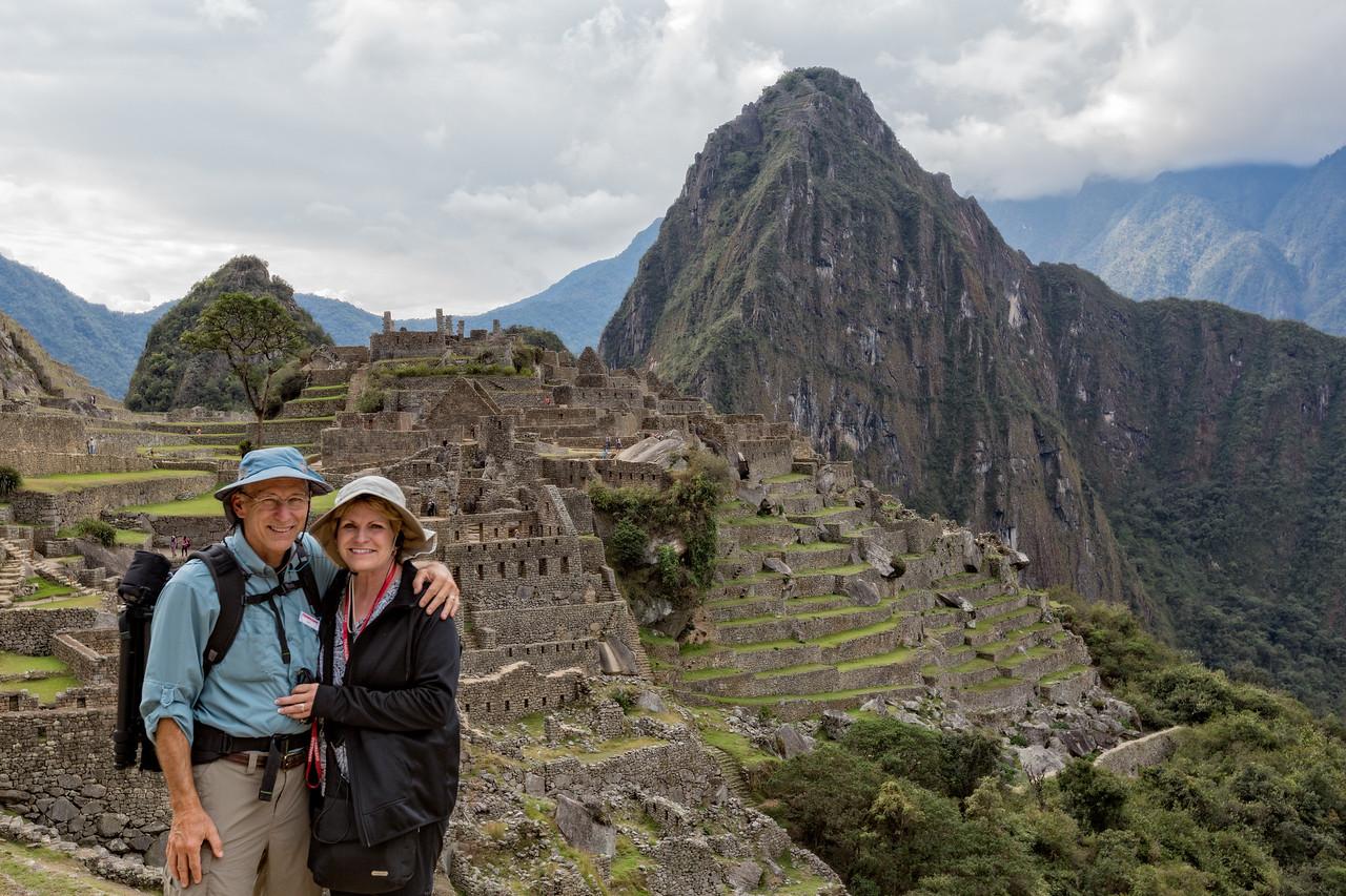 Jerry and Jenny at Machu Picchu