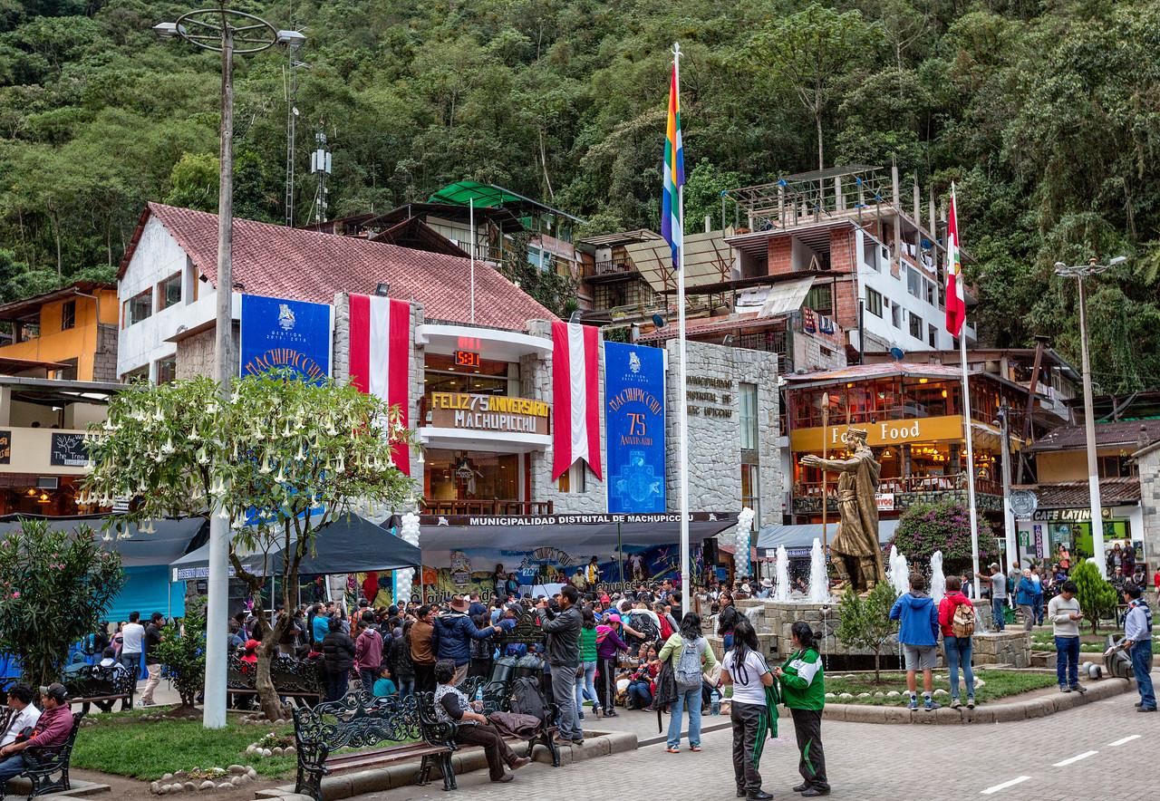 Machu Picchu 75 Year Anniversary Celebration