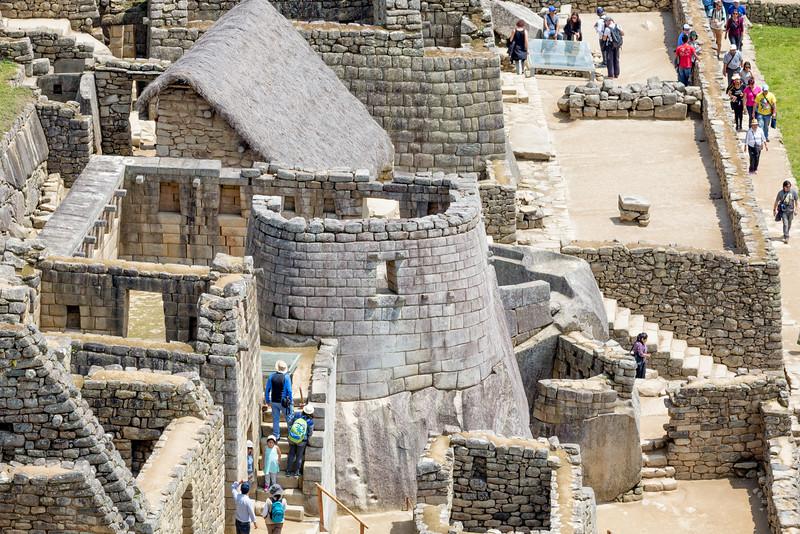 Temple of the Sun - Machu Picchu