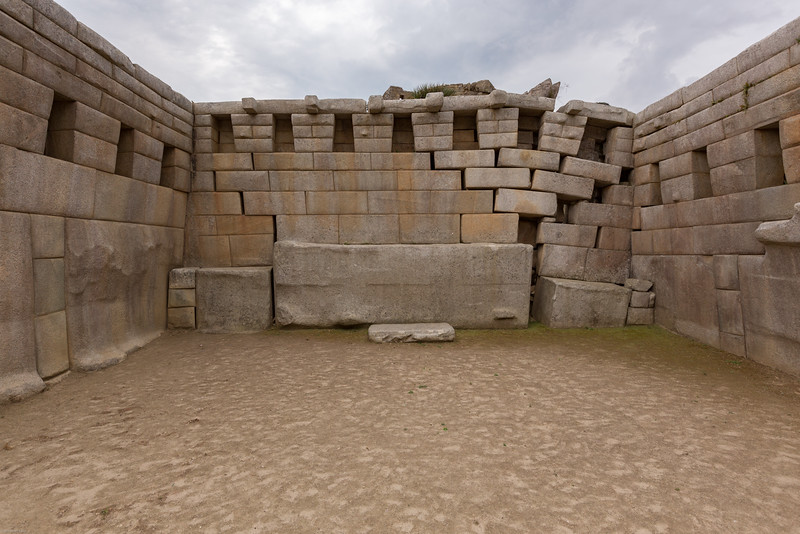 Rare Example of Inca Engineering Failure after 500 Years