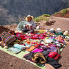 Street Vendor on Road Above Sacred Valley