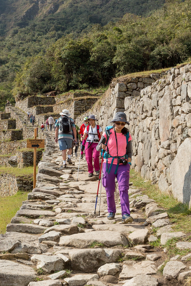 Beginning of the Inca Trail to Sun Gate