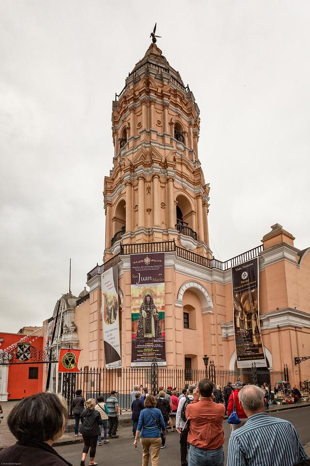 Basilica del Santismao Rosario in Lima