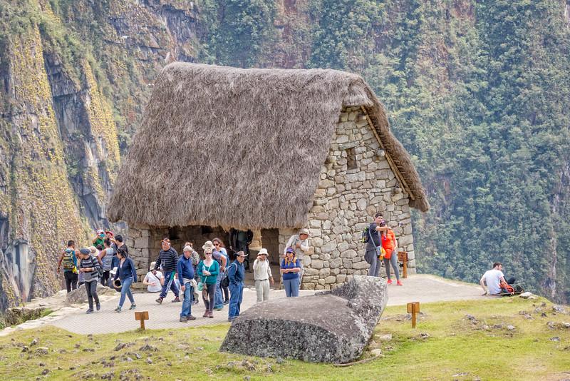 Guard House at Machu Picchu