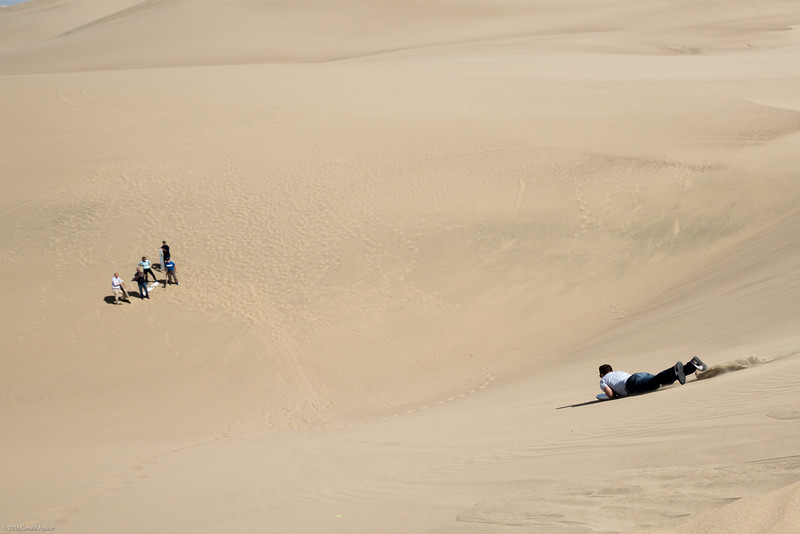 Conrad Halfway Down the Dune