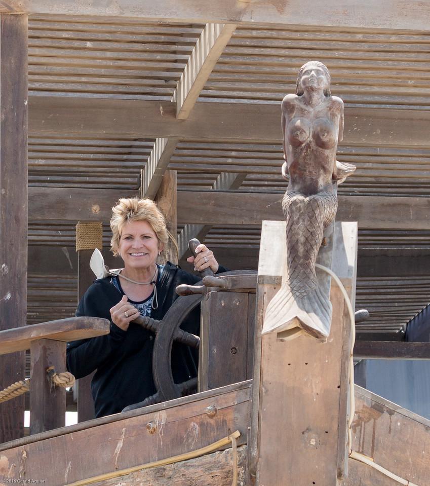 Jenny Steering Her Ship