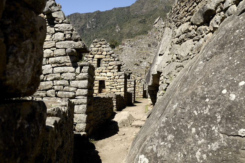 Machu Picchu, inside the Eastern urban sector.