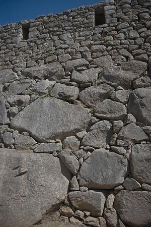 Machu Picchu, Peru - Inca Stone Foundations (2008-07-05)
