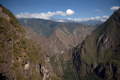 Machu Picchu, Peru - View of Mountains to West (2008-07-05)