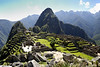 Machu Picchu, a classic view of the city.