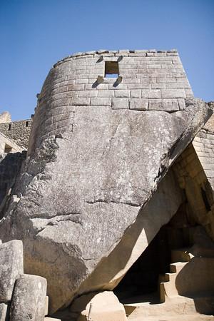 Machu Picchu, Peru - Temple of the Sun (3) (2008-07-05)