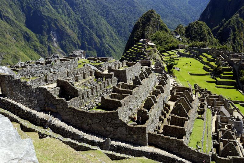 Machu Picchu, the higher Eastern urban sector.