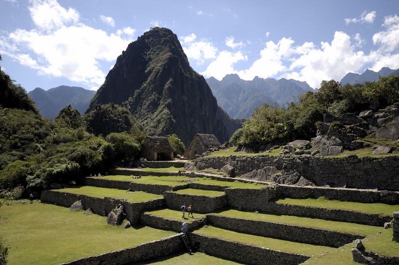 Machu Picchu, a view of Huayna Picchu.