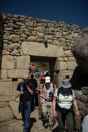 Machu Picchu, Peru - Main Gate Back (2008-07-05)