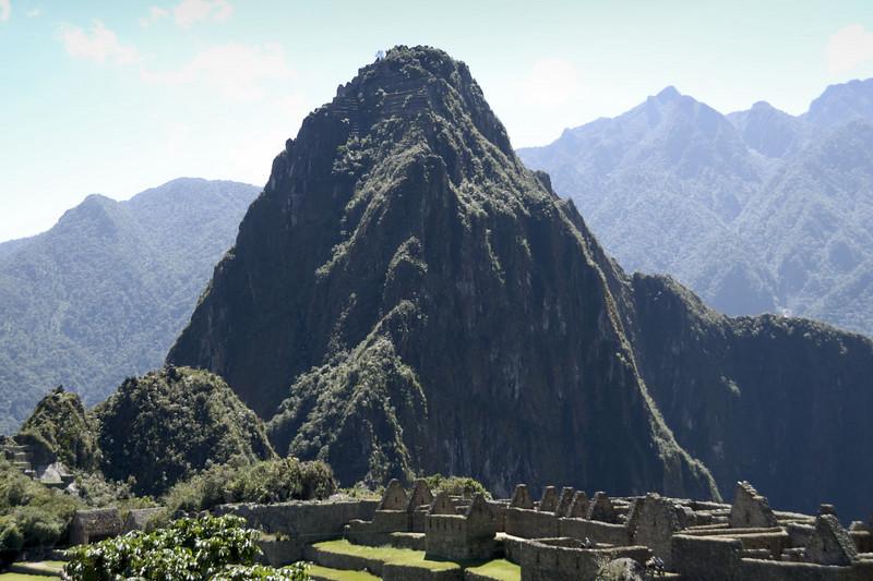 Machu Picchu, a classic view of Huayna Picchu.