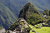 Machu Picchu, a view of the sacred area of Intihuatana