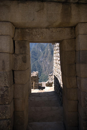 Machu Picchu, Peru - Double-Jamb Doorway Front (2008-07-05)