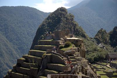 Machu Picchu, Peru - Intiwantana and Uña Picchu (2008-07-05)